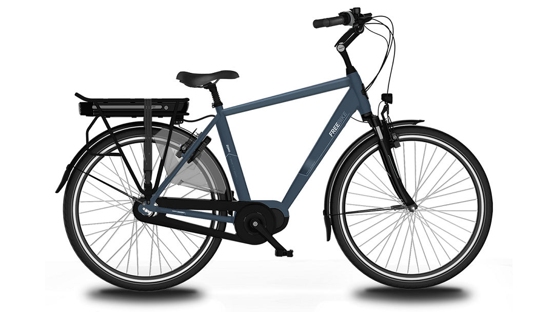 Urban Soho E-bike D53 8-V 36V 15.6Ah Jeans Blue
