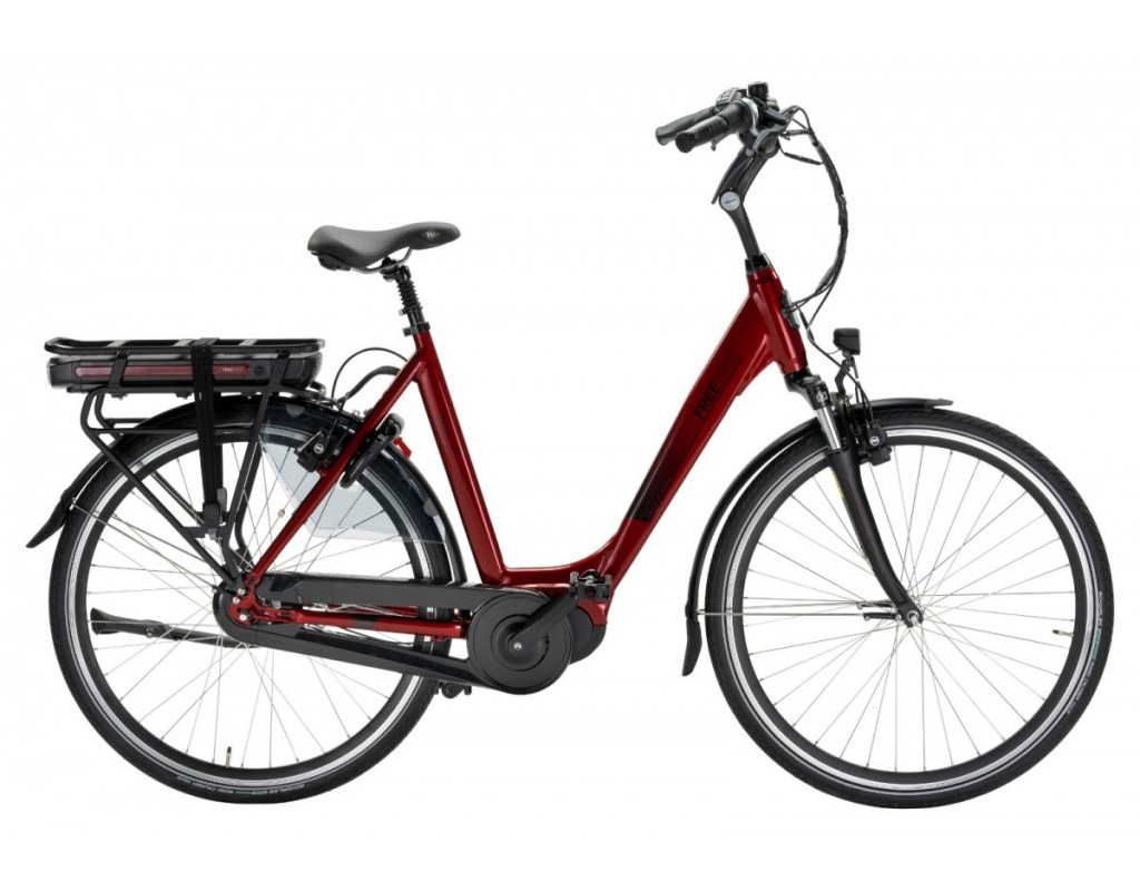 Urban Soho E-bike D53 8-V 36V 15.6Ah  Glossy red