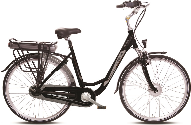 E-BIKE VELORA SMART BASIC 3-V 36V 13Ah 481Wh BLACL